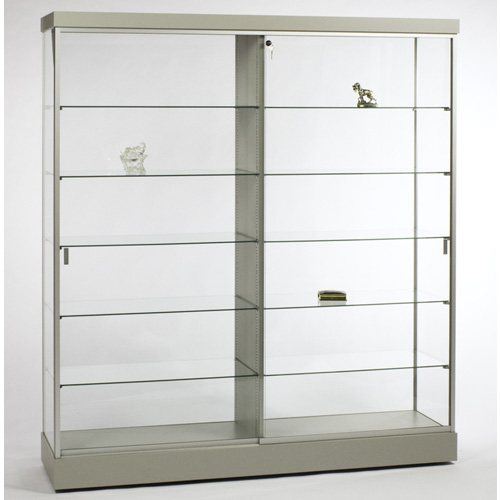 Gl609 Rectangular Wall Display Case