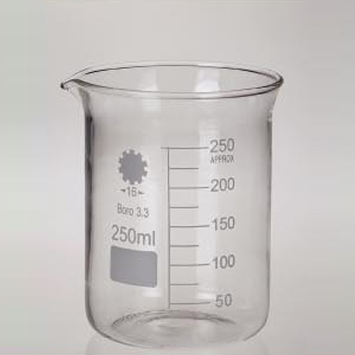 Glass Low Wall Beakers