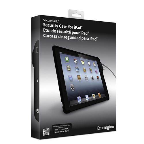 Kensington iPad SecureBacks Protective Cases and Locks