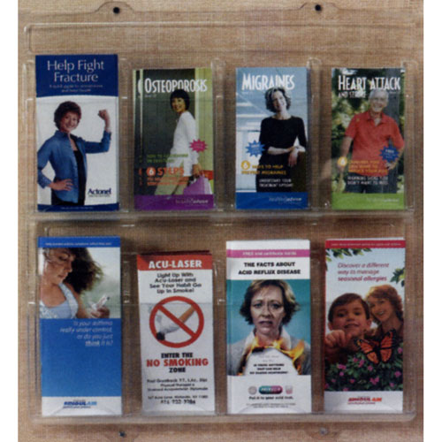 Clear-Vu Acrylic Pocket Pamphlet Holders