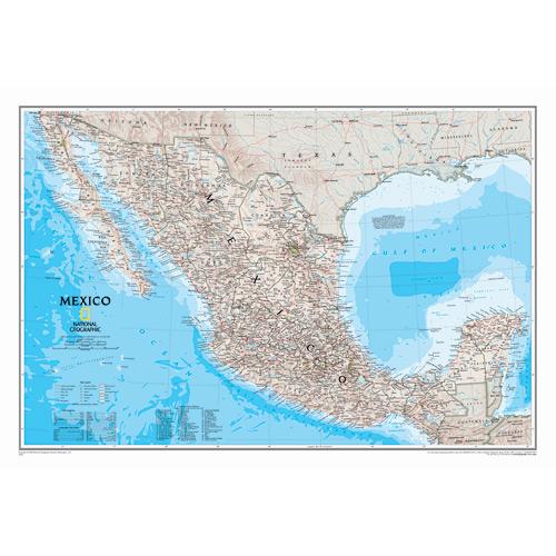 Mexico Wall Maps