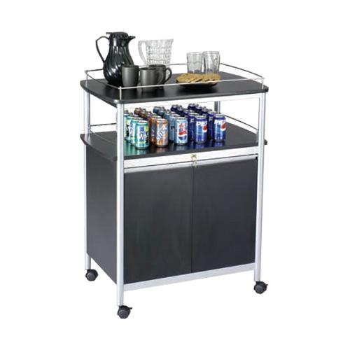 Mobile Beverage Service Cart