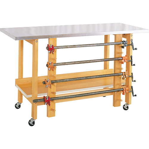 Mobile Glue and Stain Table