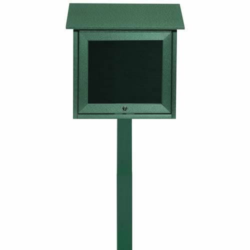 Park Ranger Outpost Series Letter Board with Mounting Post