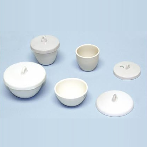 Porcelain Crucible with Lid