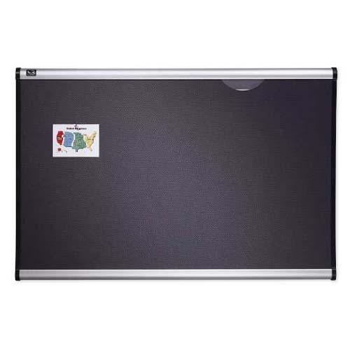 Quartet® Prestige® Grey Diamond Mesh Fabric Bulletin Boards