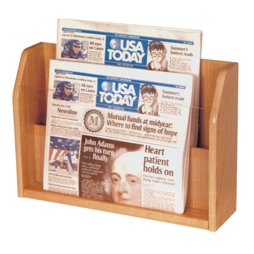 Countertop Newspaper Display