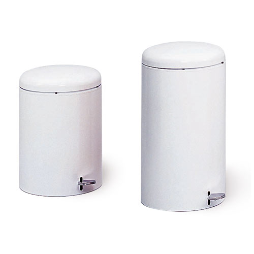 Round Step-On Trash Cans
