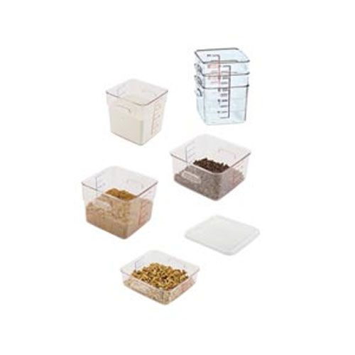 Rubbermaid® Square Containers and Lids