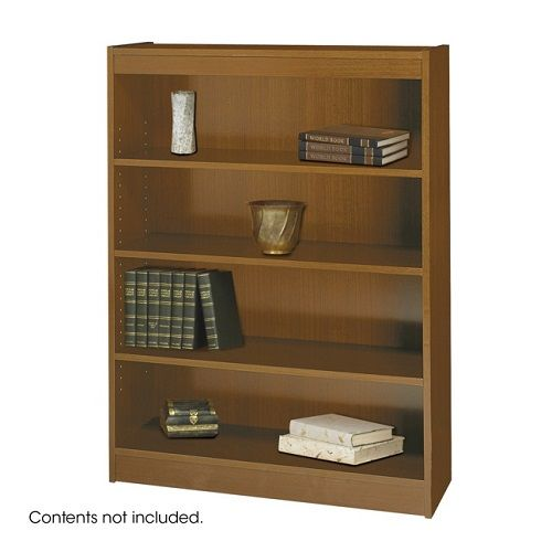 Square-Edge Veneer Bookcases