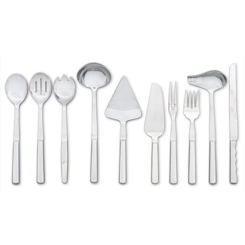 Stainless Steel Buffet Serving Utensils