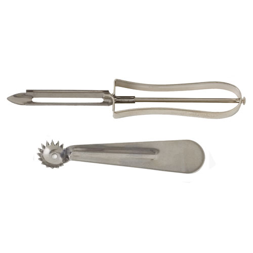 Stainless Steel Peeler and Corer