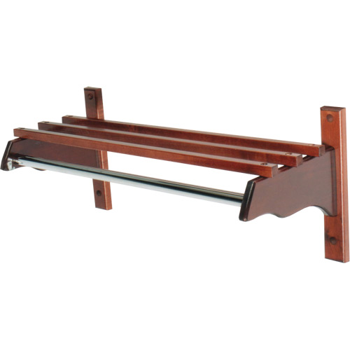 Stylish Wood Coat Rack, Hardwood Top Bars