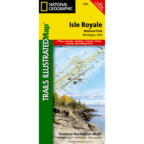 Trails Illustrated Maps - Great Lakes
