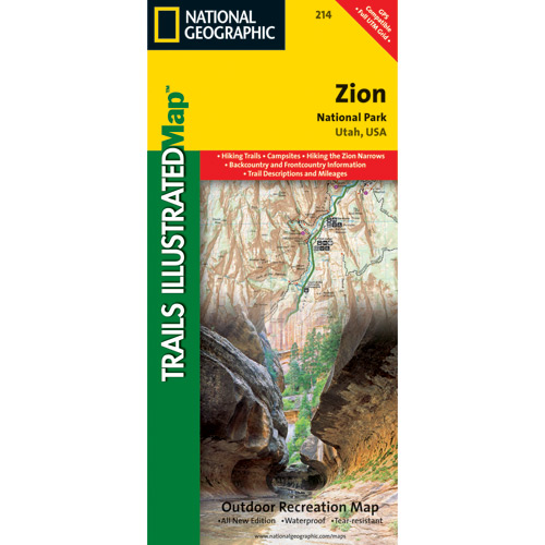 Trails Illustrated Maps - Utah