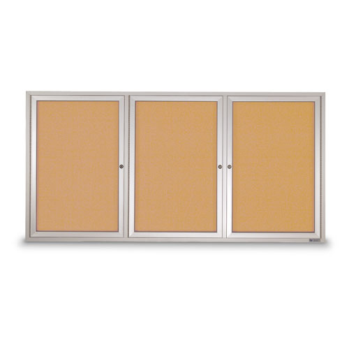 Outdoor Enclosed Corkboards