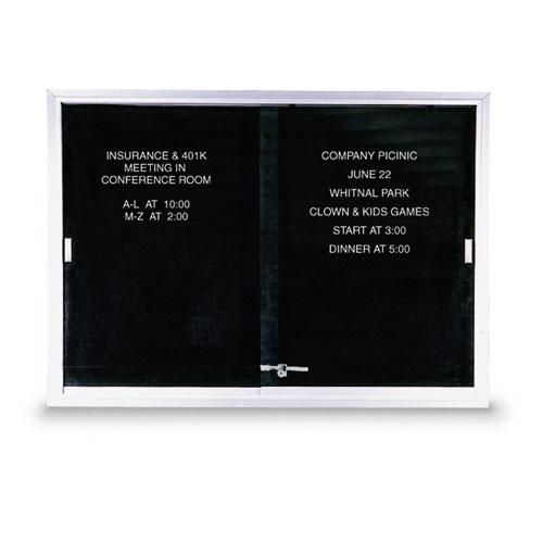 Sliding Glass Door Letterboards
