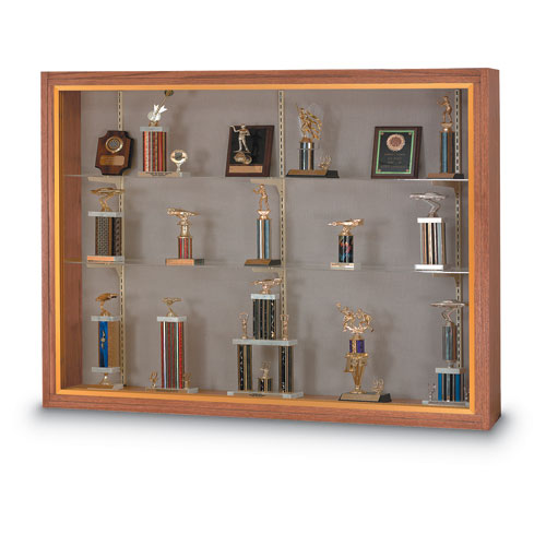 Wood Framed Display Cases