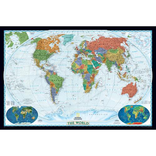 Wall Maps - World Decorator