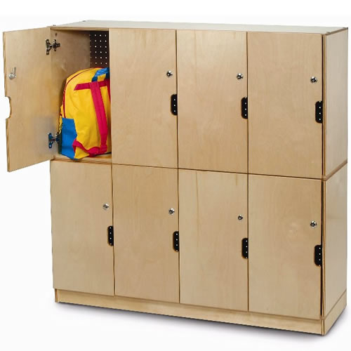 Locking Backpack Storage