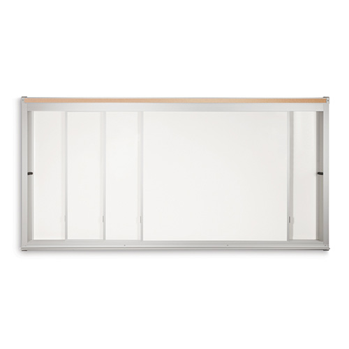 Horizontal Sliding Magnetic Whiteboards
