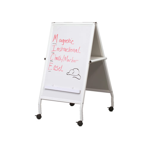 White MICE Easel