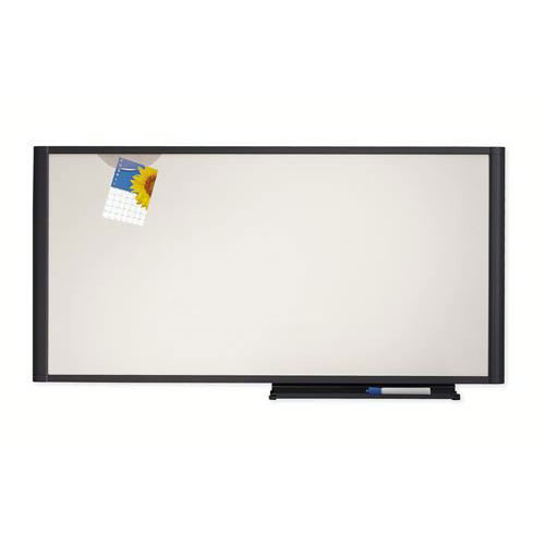Quartet® Prestige® Workstation White Non-Magnetic Markerboard