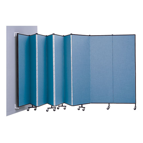 8'H Wall-Mounted Room Dividers