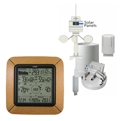 WS-2811OAK-IT Professional Weather Station