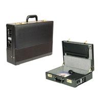 Black Pa-In-Case Attache Sound Lectern