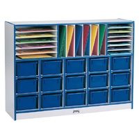 Rainbow Accents™ Sectional Mobile Cubby