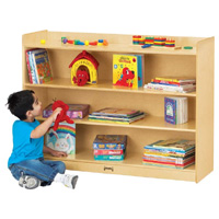 Mobile Bookcase with Lip