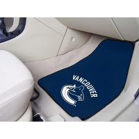 NHL 2-PC Printed Carpet Car Mat Set