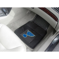 NHL 2-PC Heavy Duty Vinyl Car Mat Set