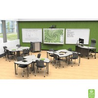 Shapes Desk Configurable Student Desking
