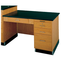 Side Desk for Teacher's Science Table Workstation