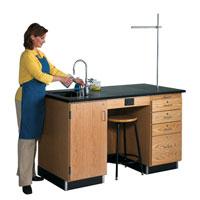 Teacher's Science Table Workstation (5 feet long)
