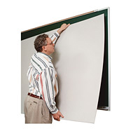 Self-Adhesive Magnetic Whiteboard Skins