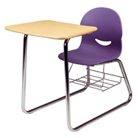 I.Q.® Series Sled-Based Combo Desk