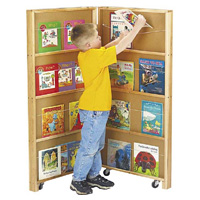 Mobile Library Bookcase