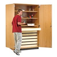 Rock/Paper Storage Cabinet