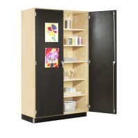 Canvas Door Display Cabinet