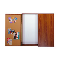 Traditional Conference Room Cabinets with Whiteboard