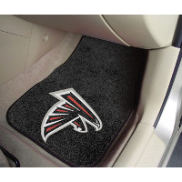 NFL 2-PC Printed Carpet Car Mat Set