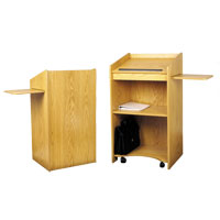Aristocrat Floor Lectern - NON SOUND