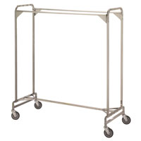 Double Pole Garment Rack
