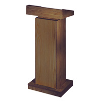 Floor Lectern Height Adjustable- Premier - NON SOUND