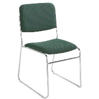 8600 Signature Fabric Padded Stack Chairs