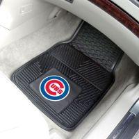 MLB 2-PC Heavy Duty Vinyl Car Mat Set