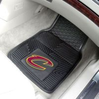 NBA 2-PC Heavy Duty Vinyl Car Mat Set